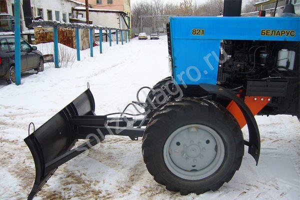 Снегоочистители шнекороторные СШР 2.0 (задний шнекоротор.